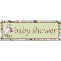 Parenthood Baby Shower Giant Banner  ~ Pre Order